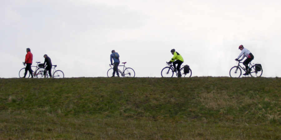 Gentle off-road cycling in teh Thames Gateway