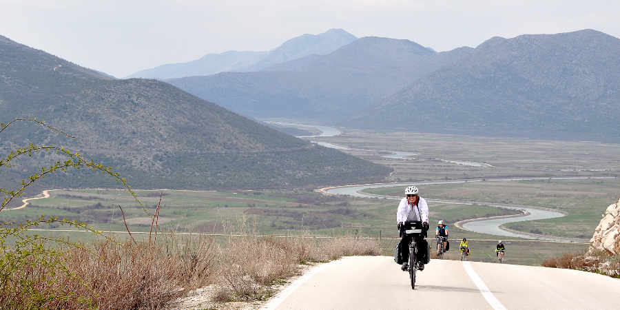 Cycle touring in western Hezogovina